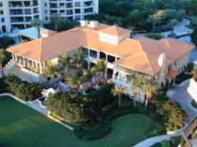 The Clubhouse at Water CLub Condominiums on Longboat Key