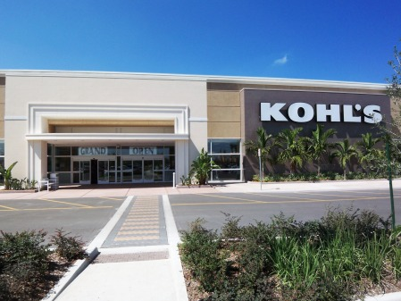 The New Kohls in Sarasota is now open.