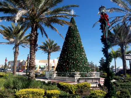 Lakewood Ranch Christmas Tree on Main Street
